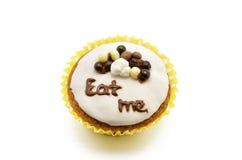 Cupcake, eat me Royalty Free Stock Photos