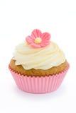 cupcake flower pink Στοκ Φωτογραφίες