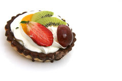 Cupcake with fruits Stock Photo