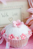 Cupcake gift Royalty Free Stock Photography