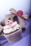 Cupcake gift Stock Photos
