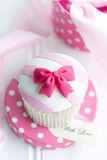 Cupcake gift Royalty Free Stock Photo