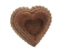 Cupcake heart Stock Photo