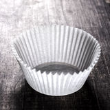 Cupcake Holder. On old wooden plank Royalty Free Stock Photography