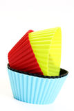 Cupcake holders Stock Image