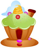Cupcake House Royalty Free Stock Images