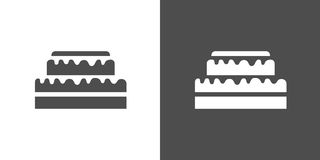 Cupcake icon Stock Photography