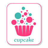 Cupcake icon Royalty Free Stock Photos