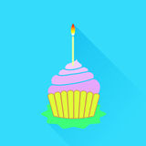 Cupcake Icon Royalty Free Stock Photography