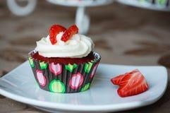 Cupcake iedereen? stock afbeelding