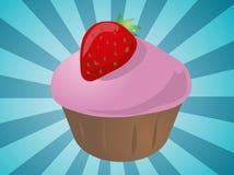 Cupcake illustration Stock Photos