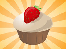 Cupcake illustration Stock Photo