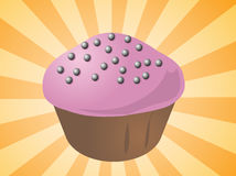 Cupcake illustration Stock Images