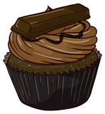 Cupcake. Illustration of an isolated cupcake Royalty Free Stock Photos