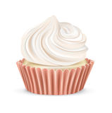 Cupcake isolated on white Stock Images