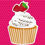 Cupcake labels Stock Photo
