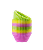 Cupcake liners Stock Image