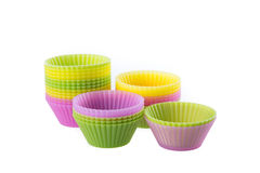 Cupcake liners Royalty Free Stock Photo