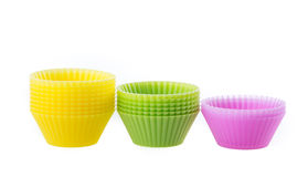 Cupcake liners Stock Photos