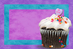 Cupcake Love Stock Photography