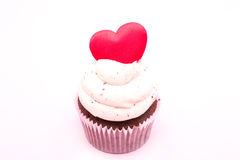 Cupcake of love Stock Photos