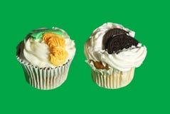 cupcake Madalena bolo do rissol Coloque o bolo imagem de stock