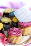 Cupcake magic royalty free stock images