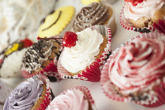 Cupcake. Many cupcakes for special occasions Royalty Free Stock Photos