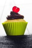 Cupcake met kers Royalty-vrije Stock Fotografie