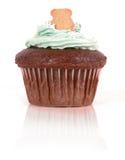 Cupcake met Teddy Stock Afbeeldingen