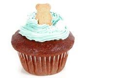 Cupcake met Teddy Royalty-vrije Stock Fotografie