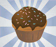 Cupcake muffin Stock Photography