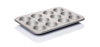 Cupcake And Muffin Pan VI Stock Images
