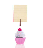 Cupcake notation standard Royalty Free Stock Photos