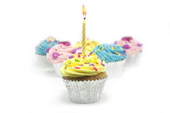 Free Cupcake On White Royalty Free Stock Photography - 11691207