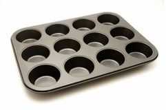 Cupcake pan Royalty Free Stock Image