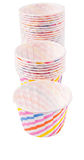 Cupcake Paper Baking Cups VI Stock Photos