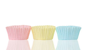 Cupcake papers Royalty Free Stock Image