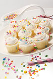 Cupcake party Stock Photo