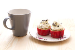 Cupcake party Stock Image