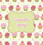 Cupcake Party! Royalty Free Stock Photography