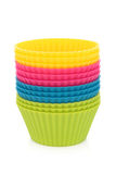 Cupcake Pastry Cases Royalty Free Stock Photo