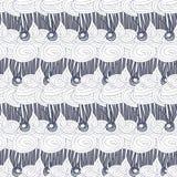 Cupcake pattern Doodle Stock Image