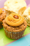 Cupcake with peanut  Stock Photo