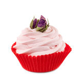 Cupcake with roses Royalty Free Stock Photography