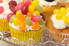 Cupcake selection Royalty Free Stock Photos