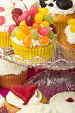 Cupcake selection Royalty Free Stock Image