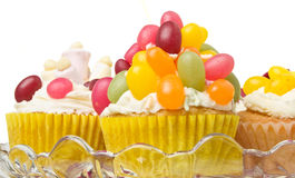 Cupcake selection Royalty Free Stock Photos