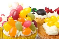 Cupcake selection Stock Photography