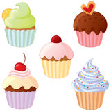 Cupcake selection Royalty Free Stock Photo